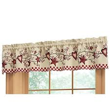 Americana Kitchen Curtains by Americana Curtains Amazon Com