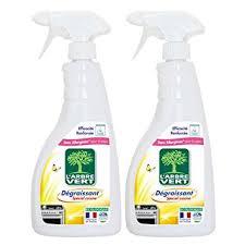 degraissant professionnel cuisine l arbre vert spray cuisine dégraissant 740 ml lot de 2