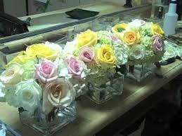 Photo Cubes Centerpieces by Designing Cube Vases With Roses Hydrangeas Youtube