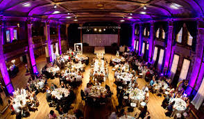 wedding halls for rent birds eye view of a wedding at turnrer ballroom weddings