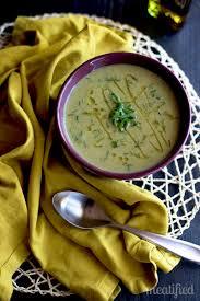 sweet potato and broccoli soup meatified