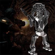 new arrival alien vs predator action robot figure toys pub cafe