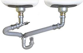 under kitchen sink drain plumbing snappy trap 1 1 2 all in one drain kit for double bowl kitchen