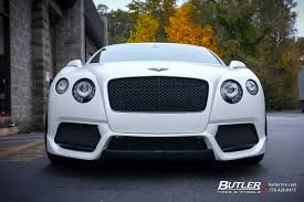 bentley custom bentley continental gt with 22in vossen cv4 wheels exclusively