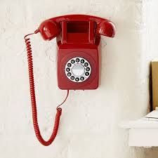Old Fashioned Wall Mounted Phones Gpo Retro Push Button 746 Wall Telephone Vintage 60s 70s Style