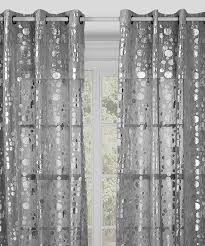 Sheer Metallic Curtains Silver Metallic Curtains 100 Images Metallic Silver Curtains