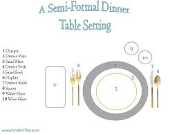 Formal Dining Table Setting Formal Dinner Table Setting Table Designs