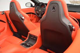 maserati orange 2016 maserati granturismo convertible sport stock m1454 for sale