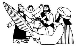 drawing of palm sunday coloring page color luna