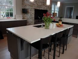 kitchen island countertop overhang white concrete kitchen island countertop custom