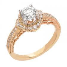 detailed engagement rings detailed halo engagement ring 99 ct tw
