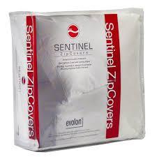 Dust Mite Crib Mattress Cover Sentinel Crib 6 In Evolon Bed Bug Dust Mite And Allergen Proof