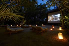 of the world u0027s coolest outdoor cinemas in maldives