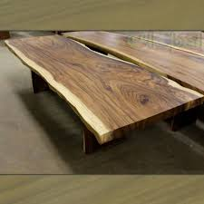 Slab Wood Table by Spectaculer Live Edge Solid Suar Wood Conference Table Slab Suar