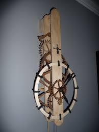 Wood Clocks Plans Download Free by Wooden Gear Clock Plans Free Download