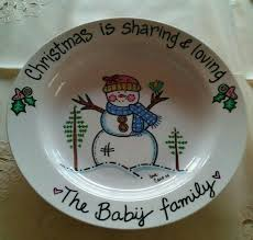 painted platters personalized 87 best christmas images on christmas plates ceramic