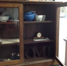 Vintage Cabinet Revamp by Rustic Apothecary Cabinet Timber With Glass Doors Revamp Vintage