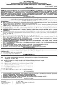 sample of sales resume careerperfect sales management sample