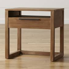Natural Wood Nightstands Nightstands And Bedside Tables Crate And Barrel