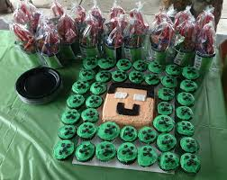 minecraft cupcake ideas 11 best s cake images on minecraft party