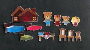 goldilocks and the three bears felt board story 1 flannel