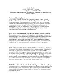 Gymnastics Coach Resume Strength And Conditioning Resume 3431