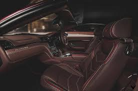 maserati grancabrio interior maserati grancabrio sport with custom interior by vilner gtspirit