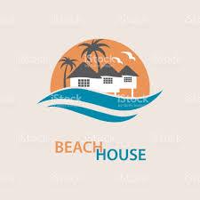 beach house icon stock vector art 672552402 istock