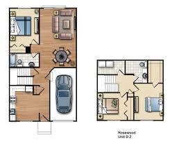 rosewood floor plans franklin communities