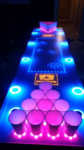 Glow In The Dark Table by Best 25 Beer Pong Tables Ideas That You Will Like On Pinterest