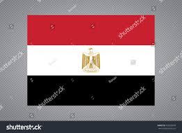 Eygpt Flag Egypt Flag Official Colors Proportion Correctly Stock Vektorgrafik