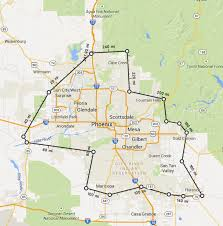 Surprise Arizona Map by A U0026g Auto Glass Repair Queen Creek Az