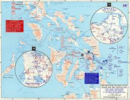 Phillipines Map Map Of Wwii The Philippines 1944