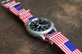 American Flag Watches Celebrate July 4th With The Perfect Nato Strap Clockwork Synergy