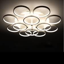 deckenleuchte schlafzimmer kreis ringe designer deckenleuchte avize beleuchtung