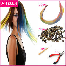 Hair Extensions Using Beads by Compare Prices On Grizzly Hair Online Shopping Buy Low Price