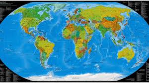 Best World Map World Map Wallpapers Wallpapersafari