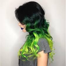 dye bottom hair tips still in style best 25 black and green hair ideas on pinterest emerald green