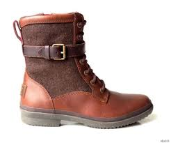 buy womens hiking boots australia ugg australia kesey chestnut brown leather boots womens size 6