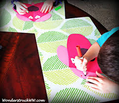 crafting with kids valentine u0027s day construction paper craft