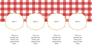 restaurant menu powerpoint template slidemodel