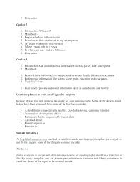biography an autobiography difference template my biography template autobiography exle breaking