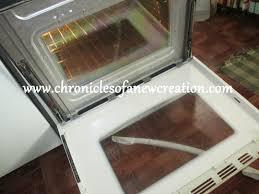 in between oven door glass chronicles of a new creation