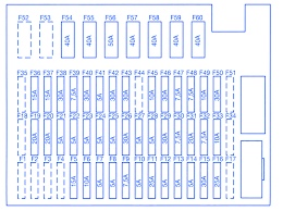 bmw z4 e85 2004 headlight beam fuse box block circuit breaker