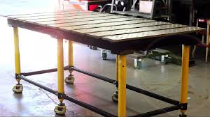Buildpro Welding Table by New Professional Welding Table The Buildpro Table On Vimeo