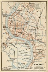 Bangkok Map Baedeker Indien 1914 Maps Perry Castañeda Map Collection Ut