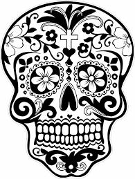 sugar skulls coloring pages 9508