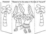 palm sunday coloring page catholic coloring pages pinterest
