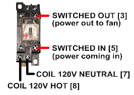 hvacquick how to u0027s wiring generic 120v coil relay from