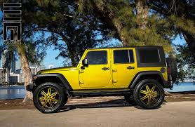 lifted jeeps jeep wrangler unlimited on colormatched rims by exclusive motoring